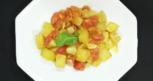 Salada de legumes ao forno com açafrão