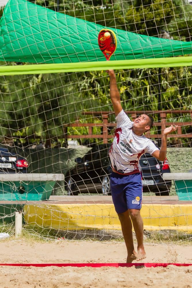 FOTO: Reprodução/Facebook Beach Tennis Fortaleza