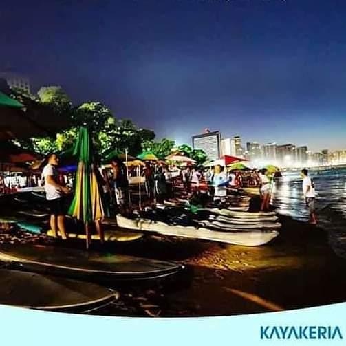 Remada noturna acontece nesta terça-feira na Beira Mar.