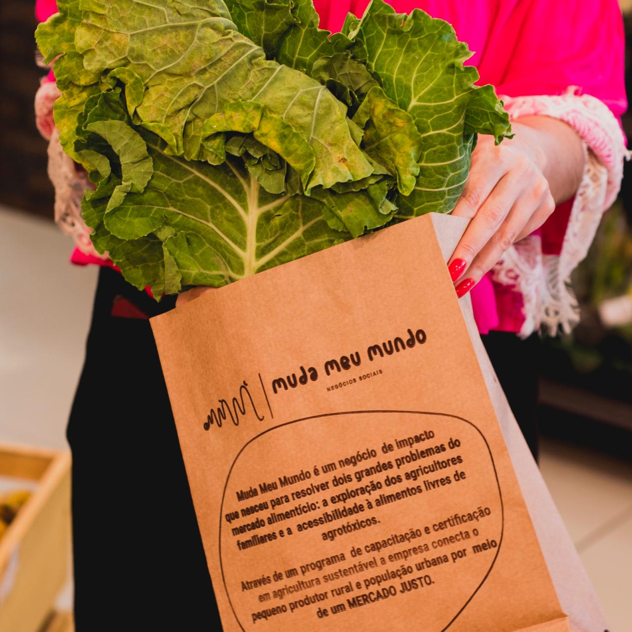 A iniciativa propõe um consumo consciente, além de apoiar a agriculta local. (Foto: Divulgação)